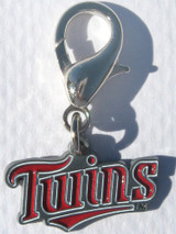 Minnesota Twins Premium Dog Cat Collar Charm