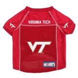 Virginia Tech Hokies Dog Pet Premium Alternate Mesh Football Jersey LE