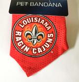 Louisiana Lafayette Ragin' Cajuns Dog Pet Mesh Football Jersey Bandana