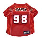 Louisiana Lafayette Ragin' Cajuns Dog Pet Premium Mesh Football Jersey