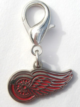 Detroit Red Wings Premium Dog Cat Collar Charm