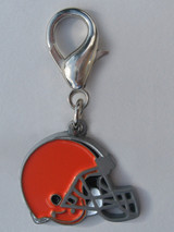 Cleveland Browns Premium Dog Cat Collar Charm