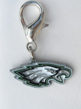 Philadelphia Eagles Premium Dog Cat Collar Charm