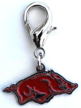 Arkansas Razorbacks Premium Dog Cat Collar Charm