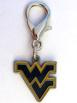 West Virginia Mountaineers Premium Dog Cat Collar Charm