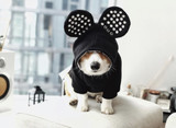 Mickey Mouse Dog Cat Hoodie Sweatshirt w/ Ears Premium Licensed