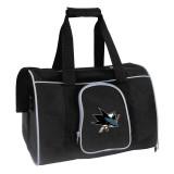 """San Jose Sharks Dog Cat Premium Carrier Bag 16"""""""