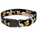 Road Runner Wile E. Coyote Premium Dog Collar Expressions Looney Tunes