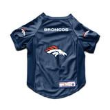 Denver Broncos Dog Cat Deluxe Stretch Jersey