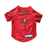 Tampa Bay Buccaneers Dog Cat Deluxe Stretch Jersey