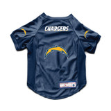 Los Angeles Chargers Dog Cat Deluxe Stretch Jersey