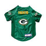 Green Bay Packers Dog Cat Deluxe Stretch Jersey