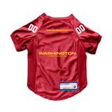 Washington Football Team Dog Cat Deluxe Stretch Jersey