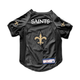 New Orleans Saints Dog Cat Deluxe Stretch Jersey