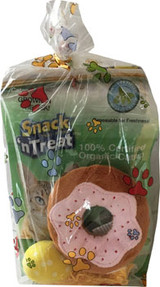 Plush Cat Toy Gift Bag Cupcake Donut Comets Plus Catnip
