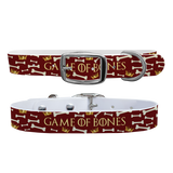 Game Of Bones Premium Dog Collar Odor Proof Waterproof Antimicrobial