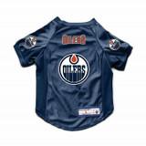 Edmonton Oilers Dog Cat Deluxe Stretch Jersey