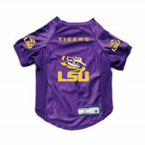 Louisiana State LSU Tigers Dog Cat Deluxe Stretch Jersey