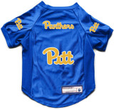 Pittsburgh Pitt Panthers Dog Cat Deluxe Stretch Jersey