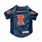 Illinois Fighting Illini Dog Cat Deluxe Stretch Jersey