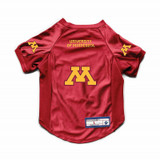 Minnesota Golden Gophers Dog Cat Deluxe Stretch Jersey