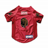 Montana Grizzlies Dog Cat Deluxe Stretch Jersey