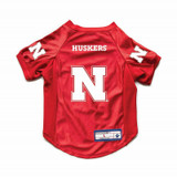 Nebraska Huskers Dog Cat Deluxe Stretch Jersey