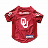 Oklahoma Sooners Dog Cat Deluxe Stretch Jersey