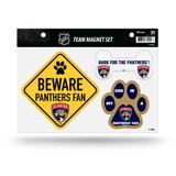 Florida Panthers Pet Dog Magnet Set Beware Fan