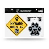 Los Angeles Kings Pet Dog Magnet Set Beware Fan