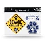 Toronto Maple Leafs Pet Dog Magnet Set Beware Fan