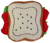 Sandwich Dog Toy Plush w/Squeaker