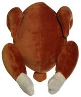 Roasted Chicken Dog Toy Plush w/Squeaker