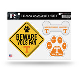 Tennessee Vols Volunteers Pet Dog Magnet Set Beware Fan