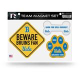 UCLA Bruins Pet Dog Magnet Set Beware Fan