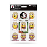 Florida State Seminoles Emoji Emotion Mood Magnet Set w/ Movable Today Frame