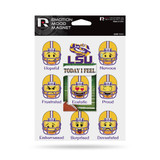 LSU Tigers Emoji Emotion Mood Magnet Set w/ Movable Today Frame