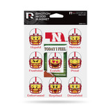 Nebraska Huskers Emoji Emotion Mood Magnet Set w/ Movable Today Frame