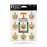 Tennessee Vols Emoji Emotion Mood Magnet Set w/ Movable Today Frame