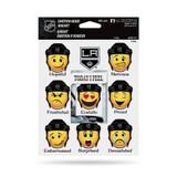 Los Angeles Kings Emoji Emotion Mood Magnet Set w/ Movable Today Frame