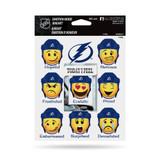 Tampa Bay Lightning Emoji Emotion Mood Magnet Set w/ Movable Today Frame