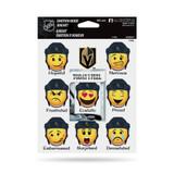 Vegas Golden Knights Emoji Emotion Mood Magnet Set w/ Movable Today Frame