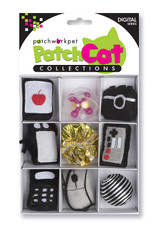 Digital Theme Box Cat Toy 9pc Set Premium Catnip Mouse Phone