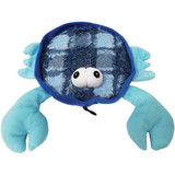 Blue Claw Crab Dog Toy Plush All Squeaker