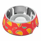 Hey Esse Easy Feeder Dog Cat Food Water Bowl Taco Design