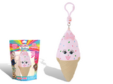 Scented Strawberry Ice Cream Backpack Clip Shirley Cone Whiffer Squisher