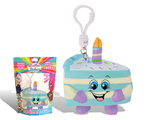 Scented Birthday Cake Backpack Clip Jake Whiffer Squisher