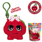 Scented Cherry Backpack Clip Cheri Cherry Whiffer Squisher