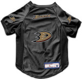 Anaheim Ducks Dog Deluxe Stretch Jersey Big Dog Size