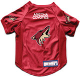 Arizona Coyotes Dog Deluxe Stretch Jersey Big Dog Size